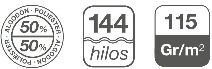 fundas nordicas 144 hilos