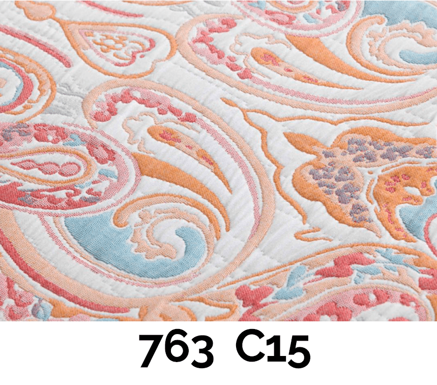 Colores disponibles del Set Paisley