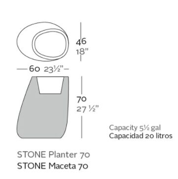 macetero 70