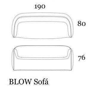 medidas sofa blw