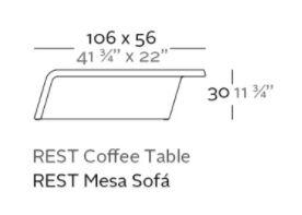 mesa sofa rest