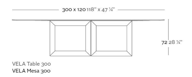 mesa xl medidas
