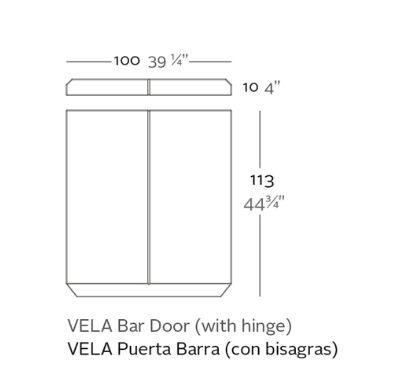 puerta barra