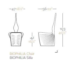 silla biophilia