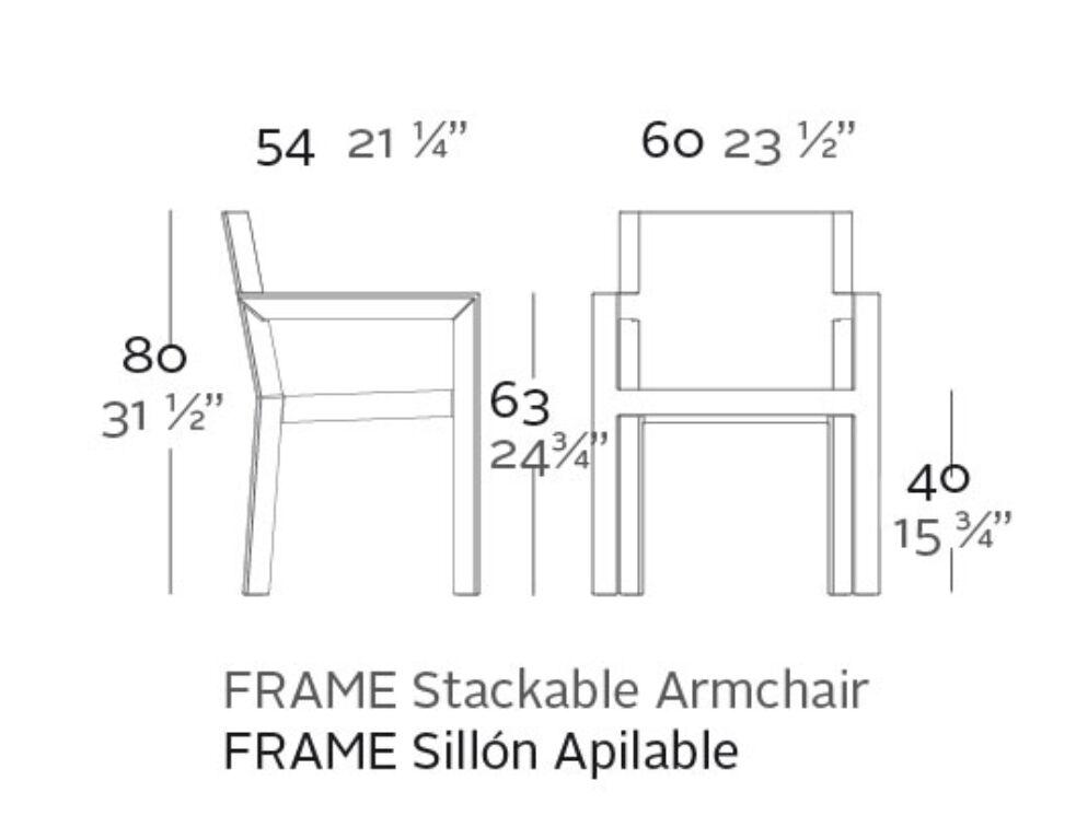 sillon frame