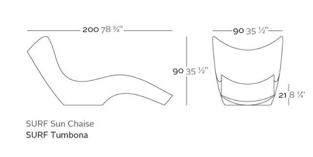 tumbona surf