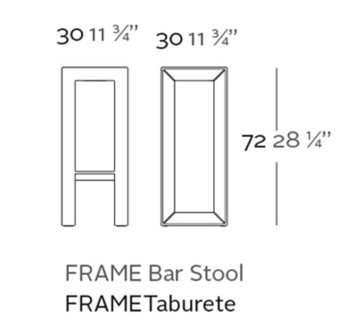 taburete frame