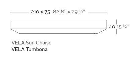 medidas tumbona