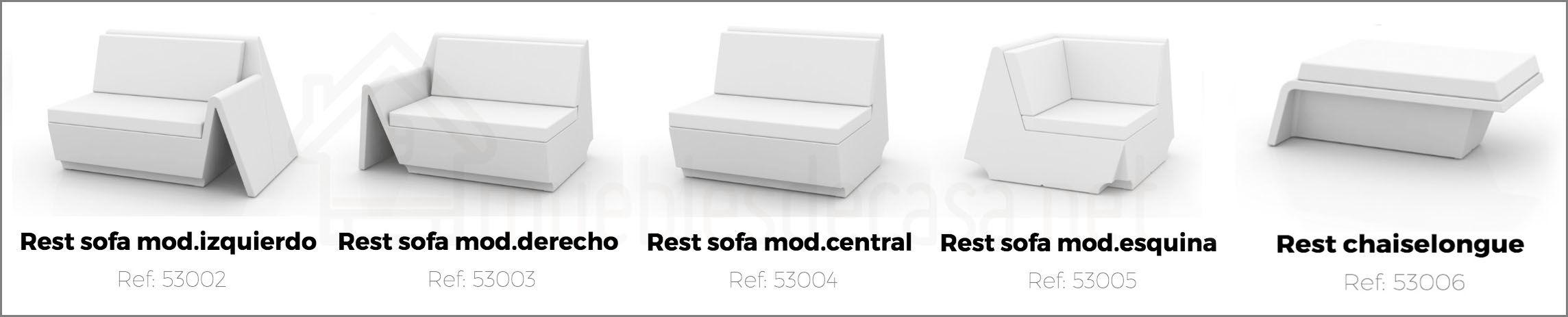 sofa rest vondom