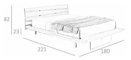 cama angel cerda 7046