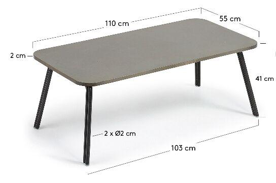 mesa de centro bernon
