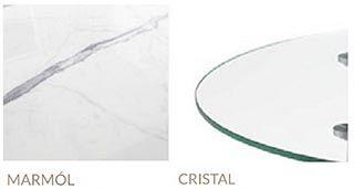 marmol y cristal