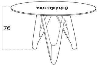 medidas mesa b063