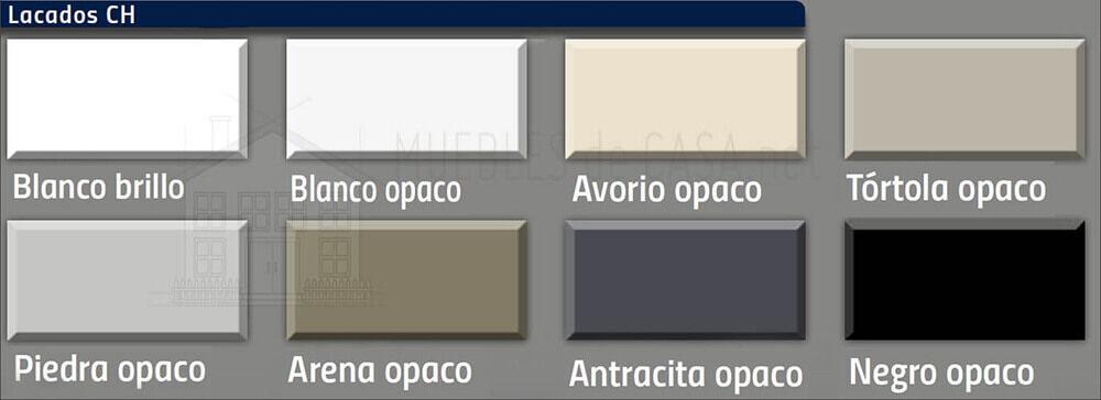 colores mesas lacadas nacher