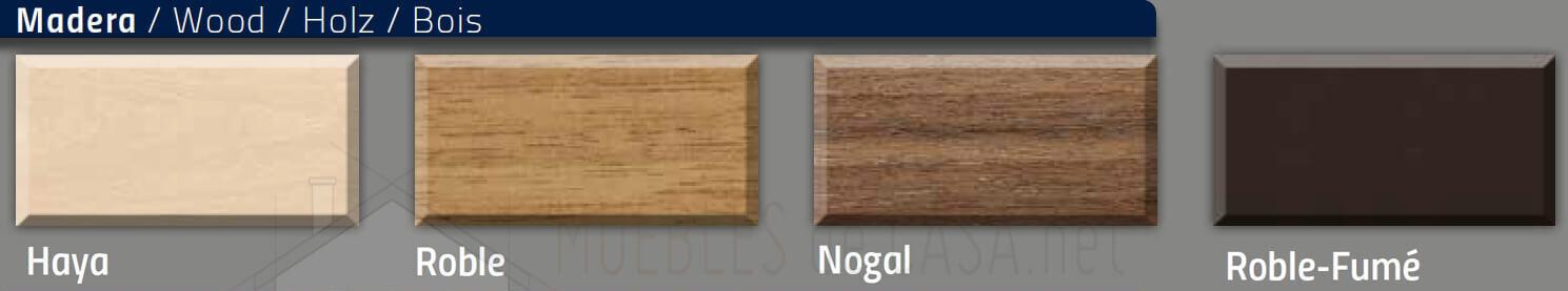 colores mesas de madera nacher