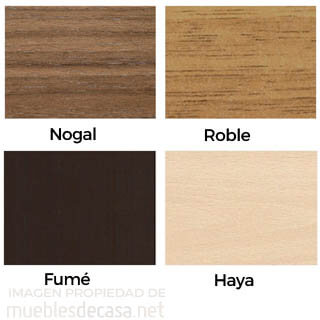 colores muebles Nacher madera