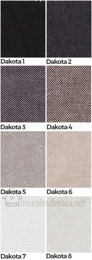 colores tejido dakota 1