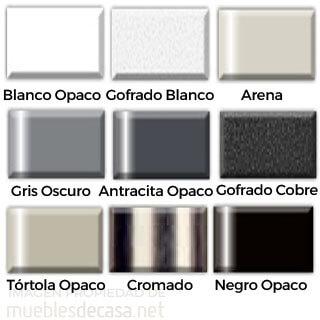 colores estructura sillas metalicas nacher