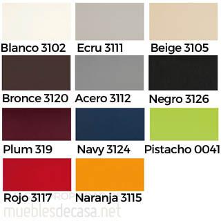 colores tela naútica Vondom