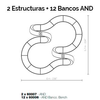 Combinaciones estructura And