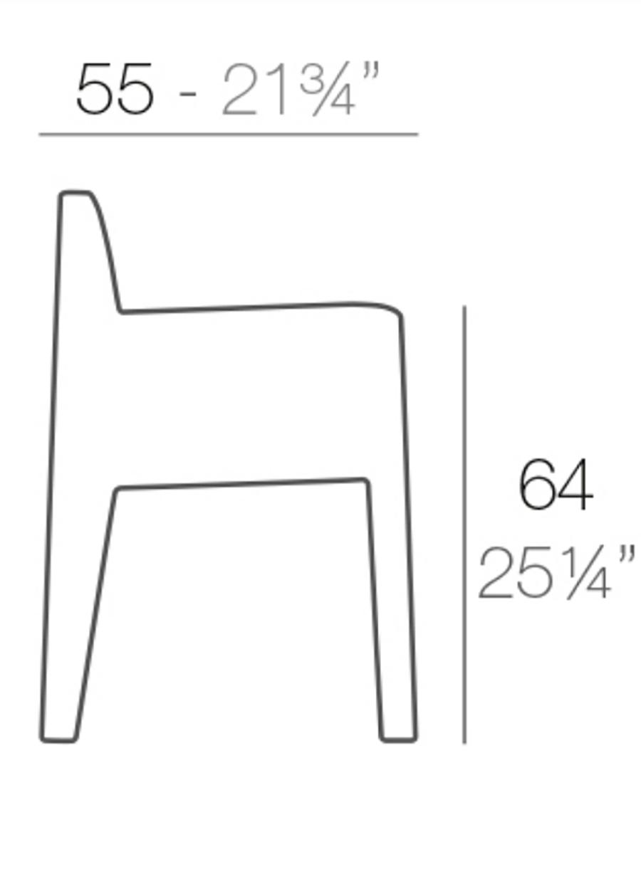 Medidas sillón Jut