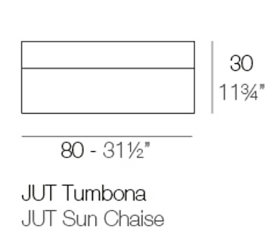 Medida Tumbona Jut