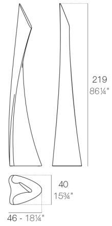 medidas lámpara wing