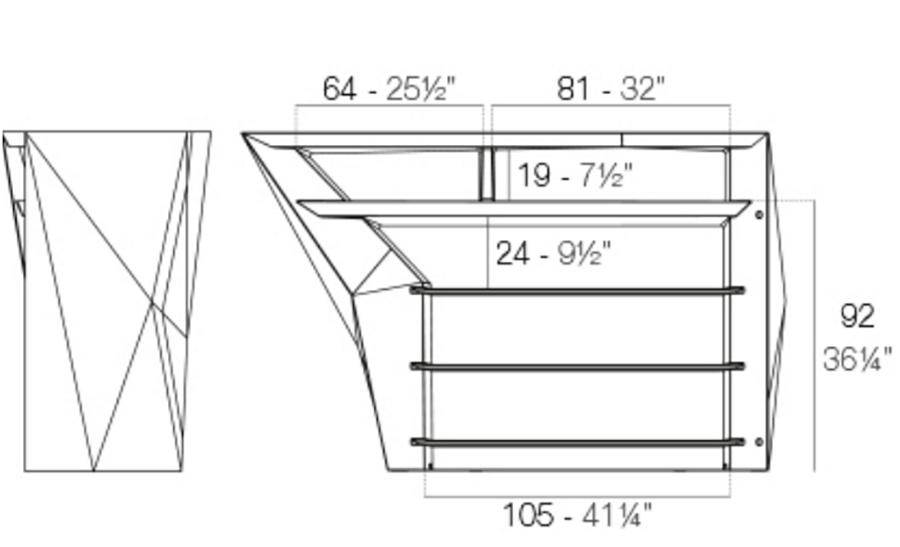 Medidas barra lateral