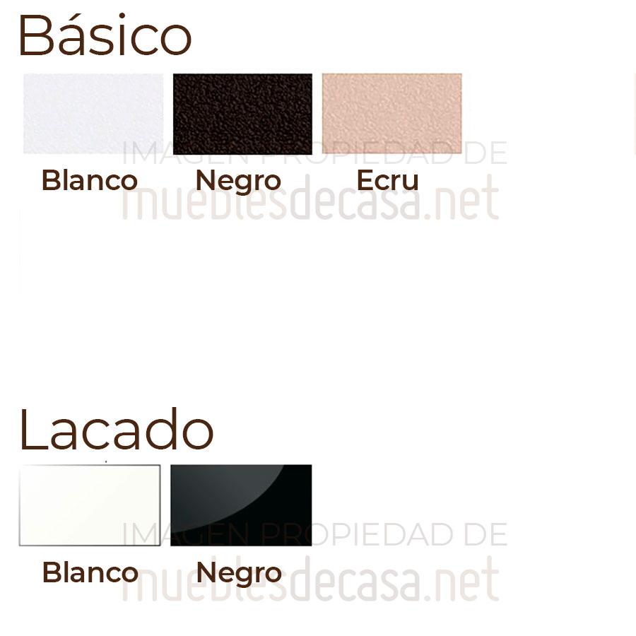 Paleta colores silla Inox Fax