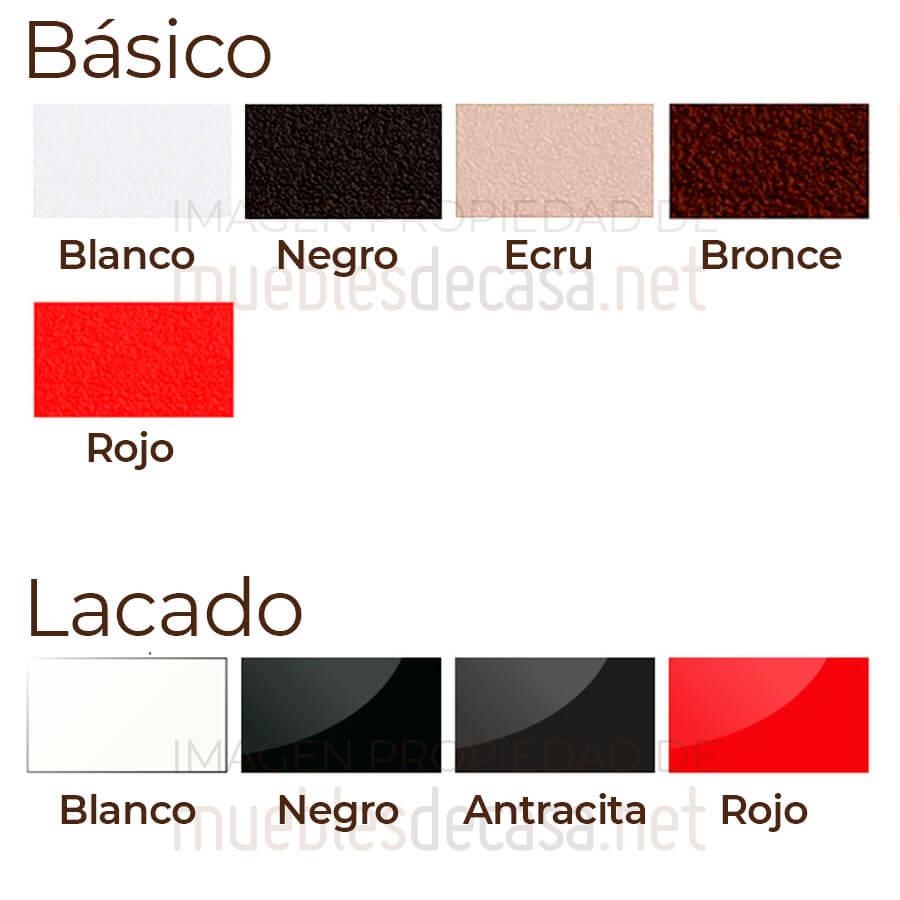Paleta colores Faz Vondom