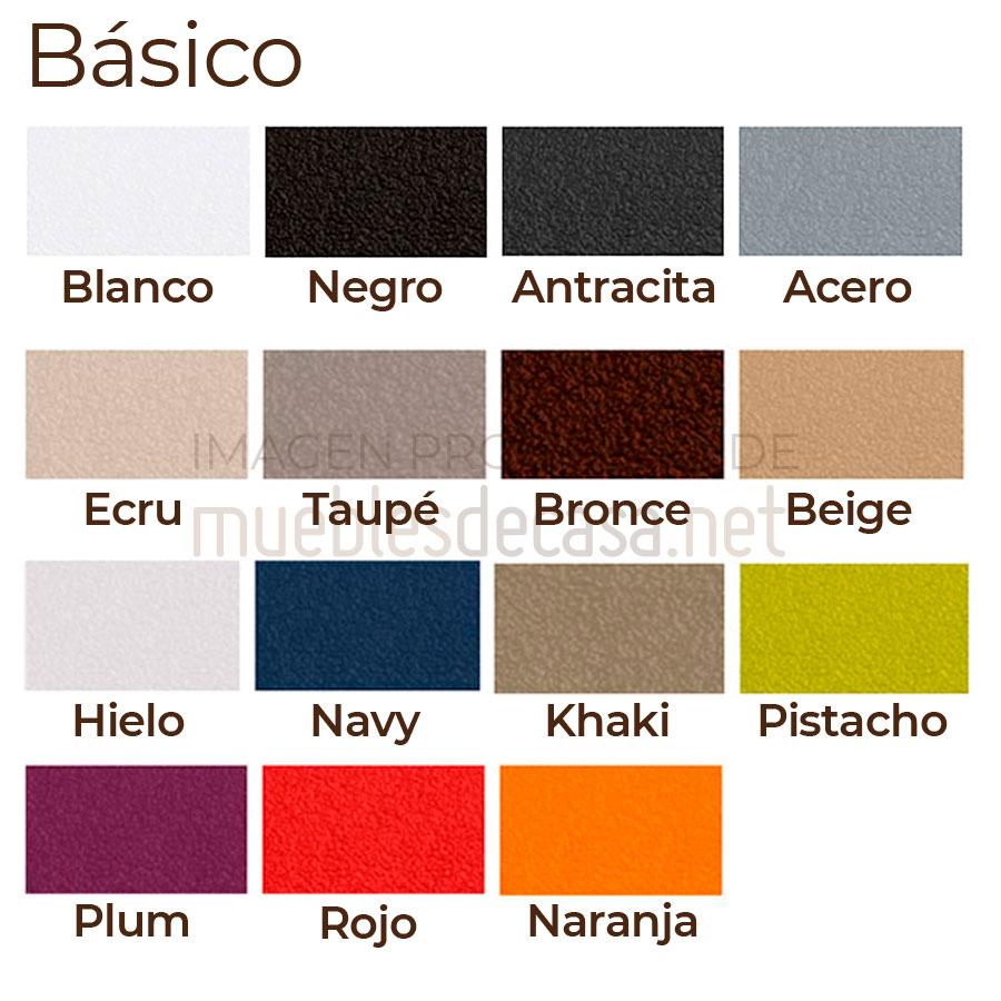 Paleta colores básicos Vondom