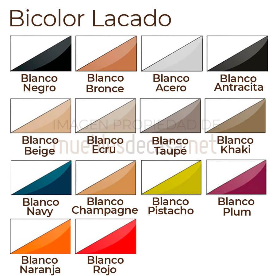 Paleta bicolor lacado Vondom