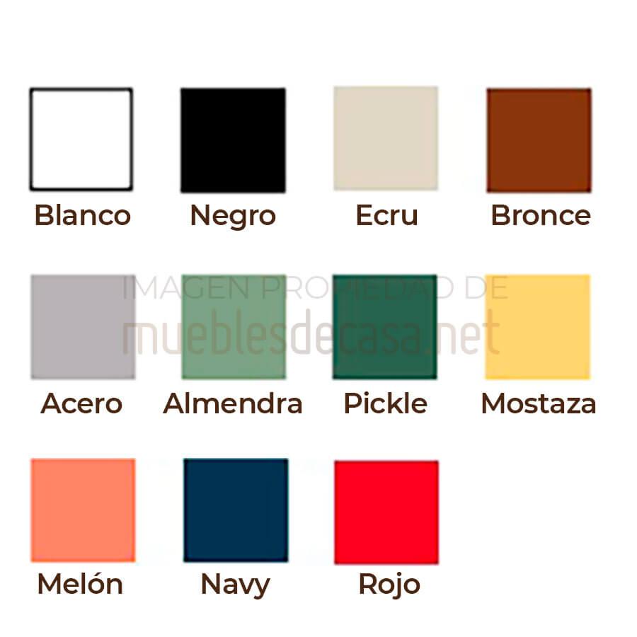 Paleta colores Delta