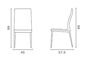 medidas silla alex