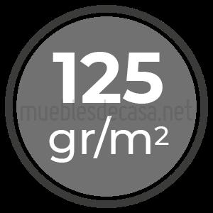 125 gramos