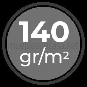140 gramos