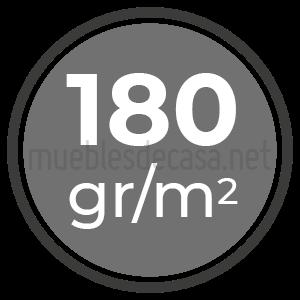 180 gramos