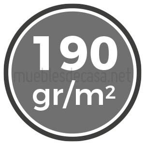 190 gramos