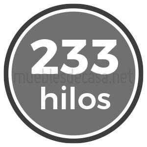 233 hilos