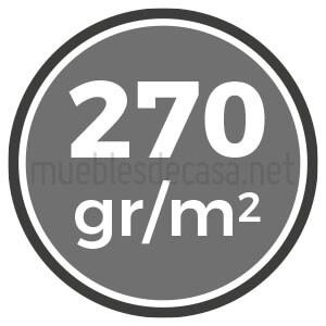 270 gramos