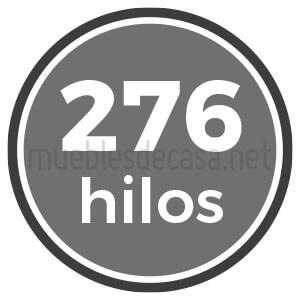 276 hilos