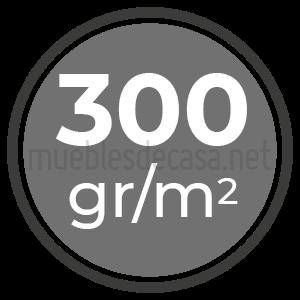 300 gramos