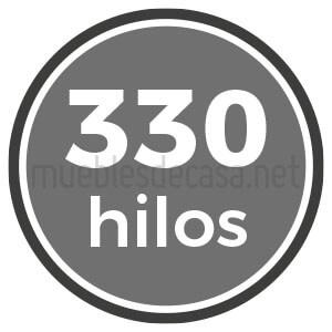 330 hilos