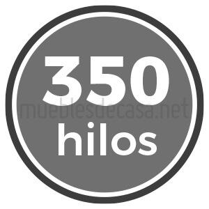 350 hilos