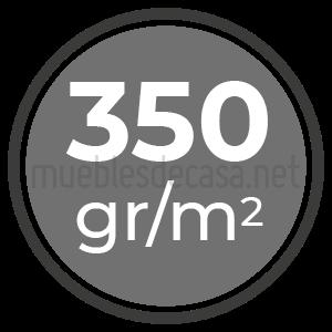 350 gramos