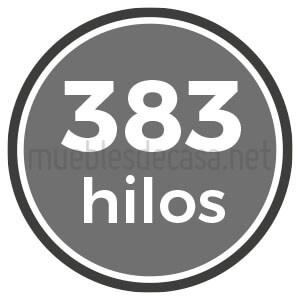 383 hilos