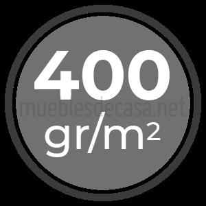 400 gramos