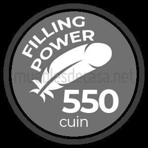 fill power 550