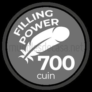 700 fill power