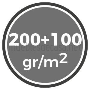 duo 200 y 100 gramos